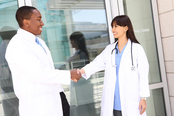 Diverse Man and Woman Medical Team