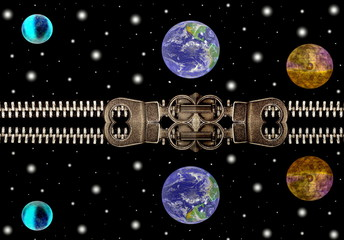 Planets in the night