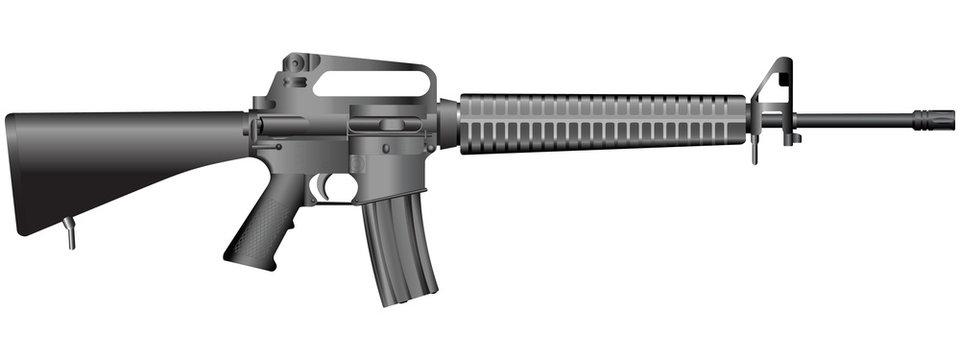 gun illustration(vector)