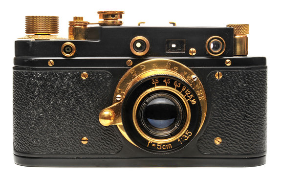 Old Rangefinder Camera