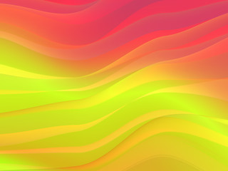 computer generated abstract wavy background