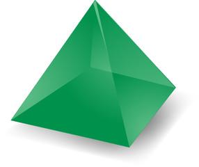 Translucent pyramid