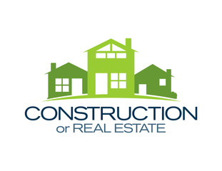 House Icon: Construction or Real Estate