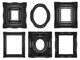 Beautiful ornate frames