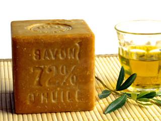 Seife aus Olivenöl