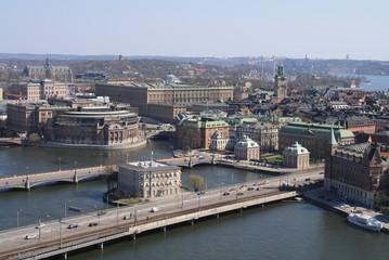 Stockholm - Blick vom Stadtshuset