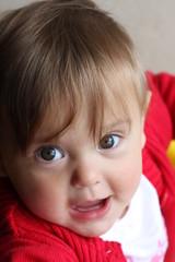 portrait bébé fille