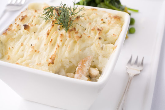 Salmon and Haddock Pie