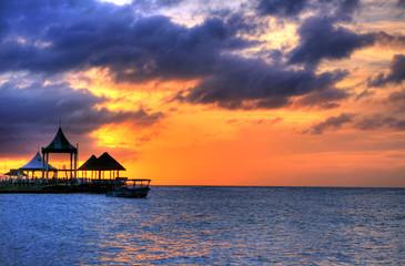 Pier at Montego Bay, Jamaica, Carribean