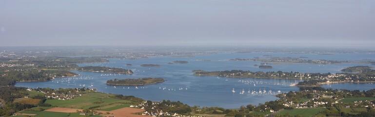 panorama du golfe du Morbihan