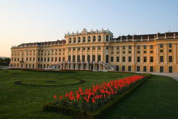 beautiful castle of Schönbrunn in Vienna / Austria