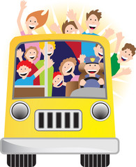 Sunshine Bus Ride