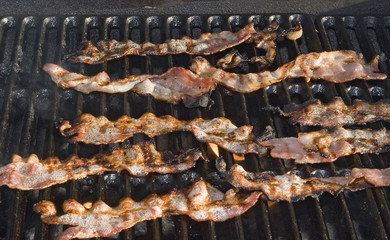 Bacon on the Grill