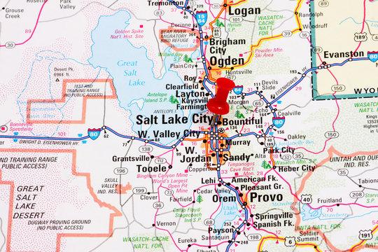 Salt Lake City Map