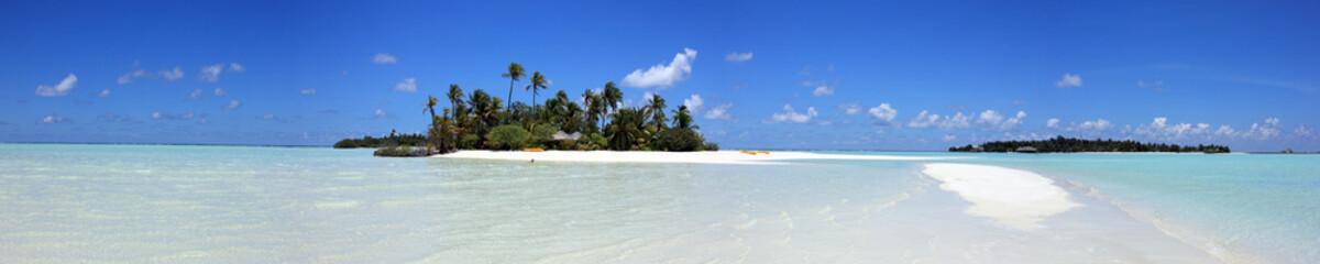 Photo sur Plexiglas Piscine panorama maldivien
