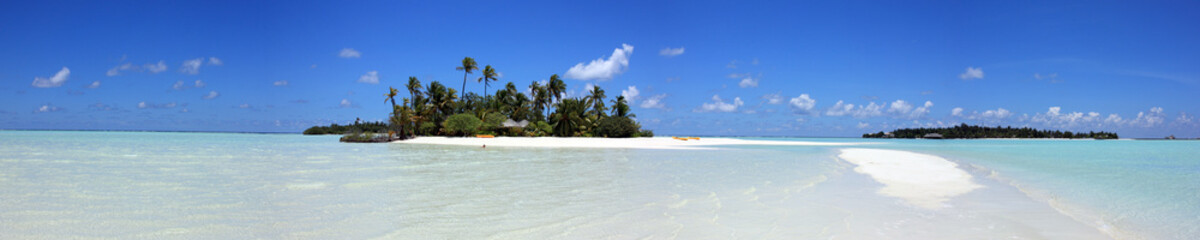 panorama maldivien
