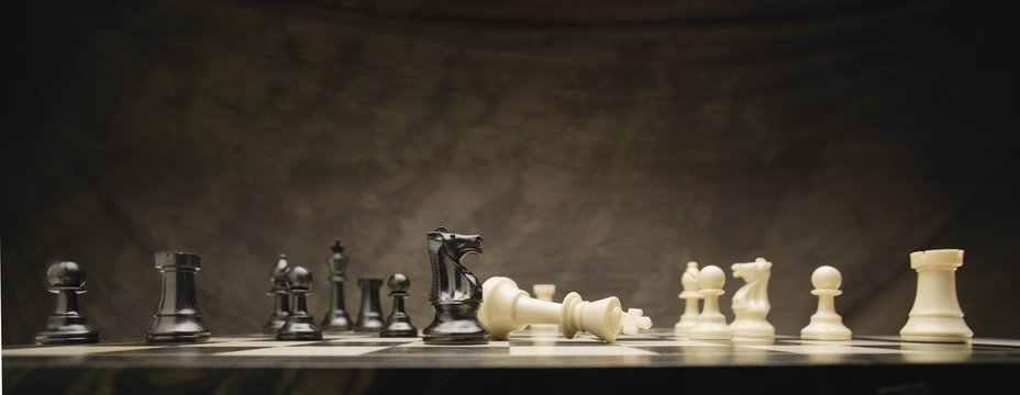 A chess game