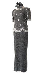 Long Gown on Shop Mannequin