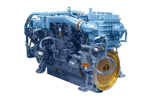 ship engine isolated