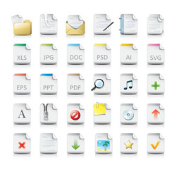 Documents and Applications icons