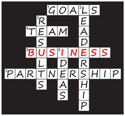 """Business"" crossword puzzle (V)"