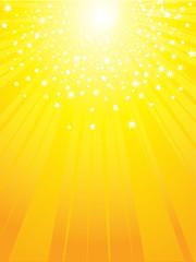 golden starburst background
