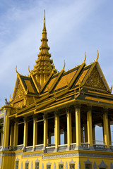 Cambodian Royal Palace Building