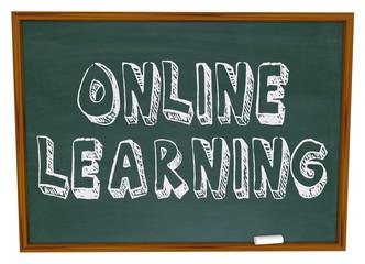 Online Learning - Chalkboard