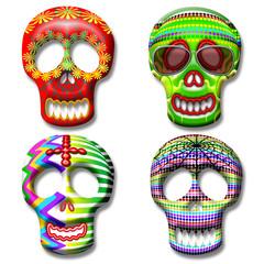 Teschio-Skull-Calaveras-Maschera-Mask-Masque 2