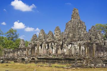 Fototapete - Bayon Temple,  Angkor Thom, Cambodia