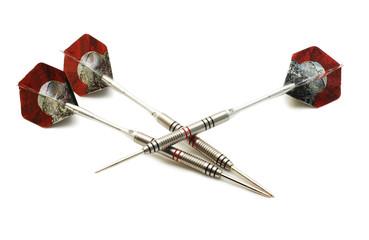 three darts isolated