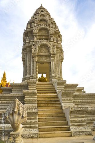 Fototapete Sanctuary of Princess Norodom, Cambodia