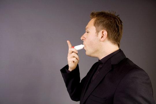 Using an inhaler