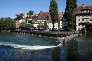 Nadelwehr in Luzern