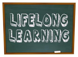 Lifelong Learning - Chalkboard