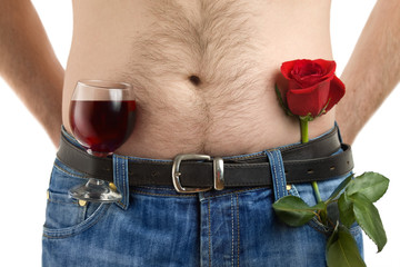 Body, flower and wine-1