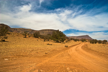 Off-road in Morocco