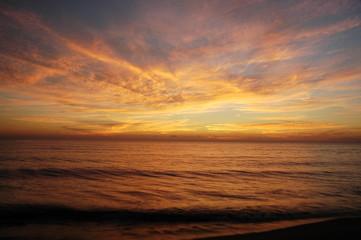 Il tramonto romano