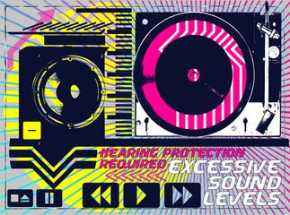 MUSIC PRINT DESIGN ARTWORK