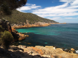 Bay at Freycinet National Park, Tasmania