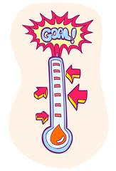 Fundraising Goal Meter