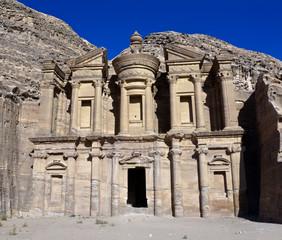 Monastery tomb - Petra