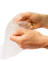 Popping the bubbles of bubble wrap