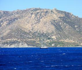 Veliero in navigazione - Sardegna