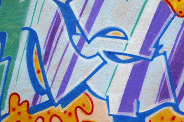 Graffitis fragment