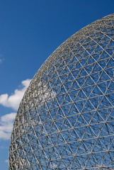 Geodesic dome aspect