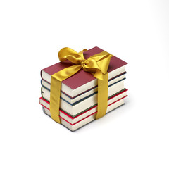 book stack gift
