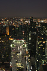 NYC de nuit_USA