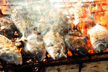 fish barbecue