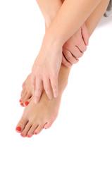 woman leg care c
